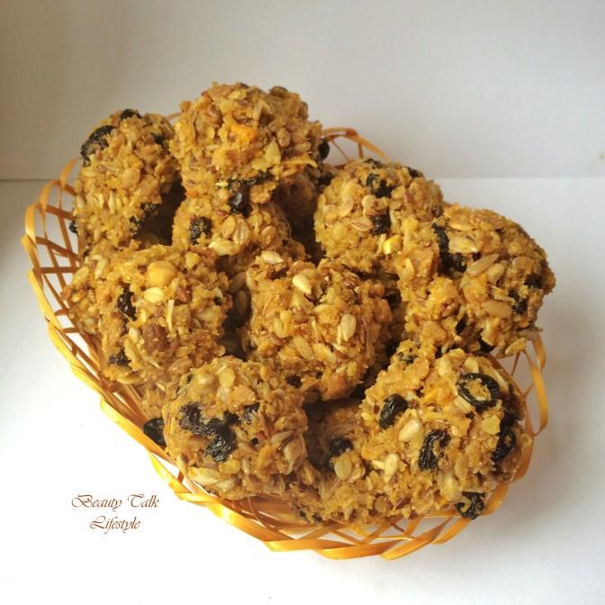 Seasonal healthy foods: Pumpkin Healthy Cookies. Сезонні страви: Гарбузові здорові тістечка для малюків і дорослих.