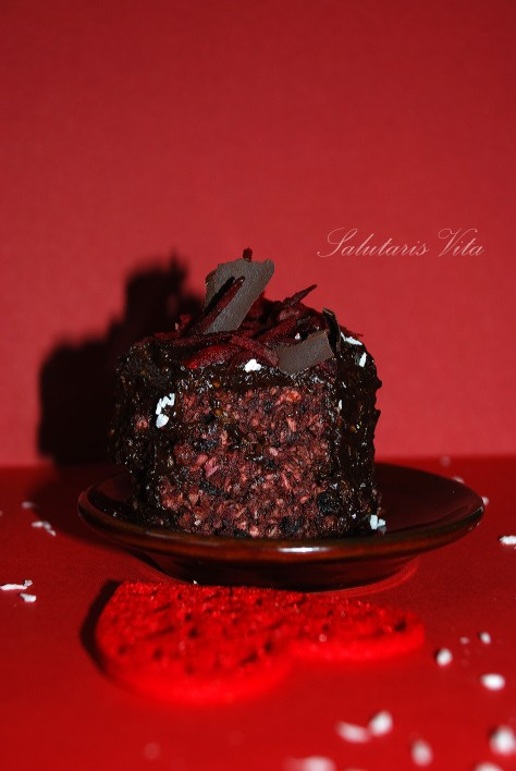chocolate beet mudcakes