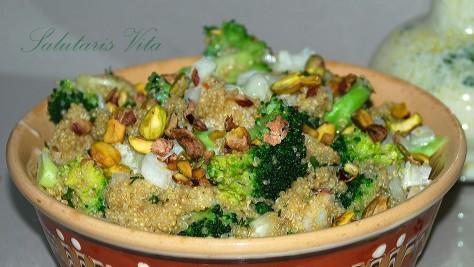 Broccoli Quinoa Salad Buttermilk dressing