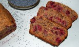 cherries poppy seeds bread