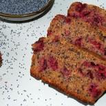 cherries poppy seeds bread