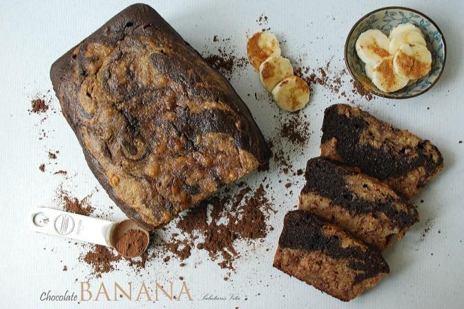 Chocolate Banana Bread. Шоколадно-Банановий Хліб.