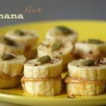 banana nut snack