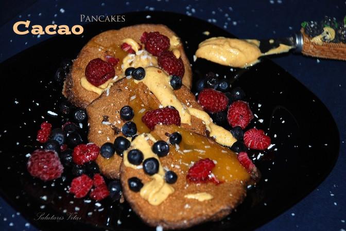 Cacao Pancakes. Какао Млинці.
