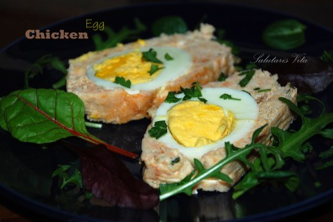chicken egg meatloaf