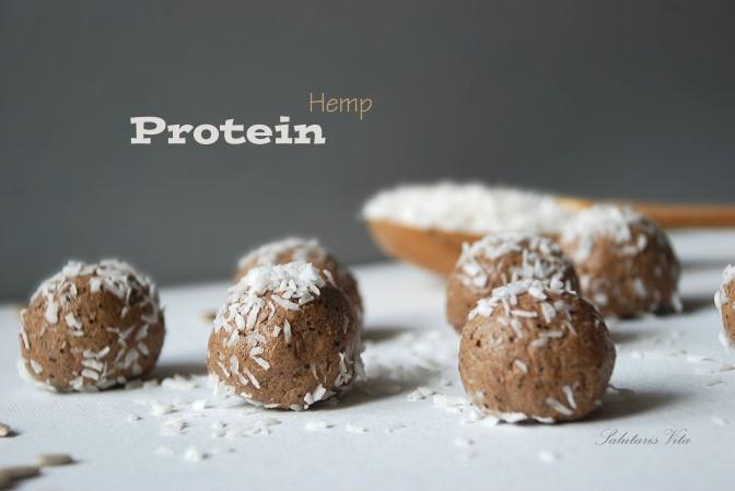 Hemp Seeds Protein Power Balls. Протеїнові Кульки з Конопляним Насінням.