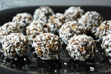 Prunes Coconut power balls 2PCSV