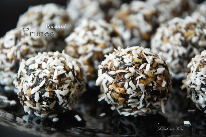Prunes Nut Power Balls. Кульки-Смакульки з Чорносливом та Горіхами.