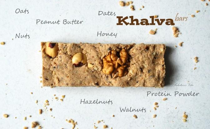 Protein Khalva Bars. Протеїнові Халва-Батончики.