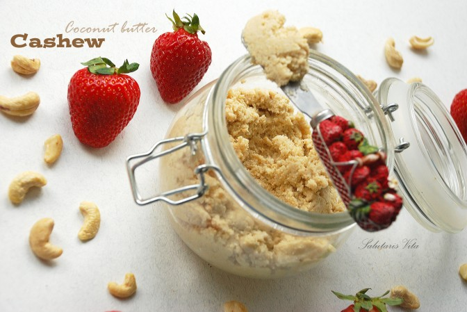Coconut Cashew Butter. Горіхово-Кокосове Масло.