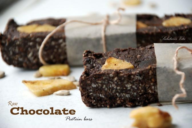 Updated Raw Chocolate Protein Bars. Вдосконалені Шоколадні Протеїнові Батончики.