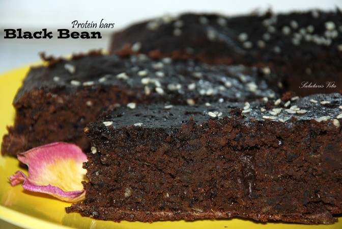 Black Bean Protein Bars