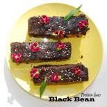 Black Bean Protein bars 8BBSV