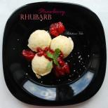 Rhubarb Strawberry Ice Nice Cream