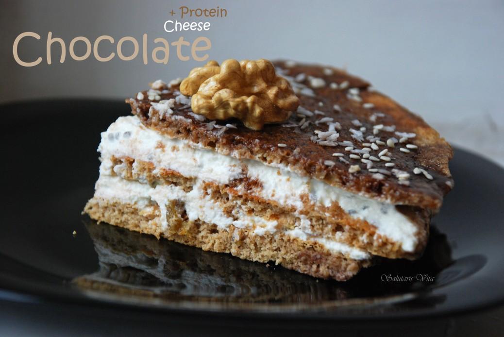 Chocolate Cheese Protein Breakfast