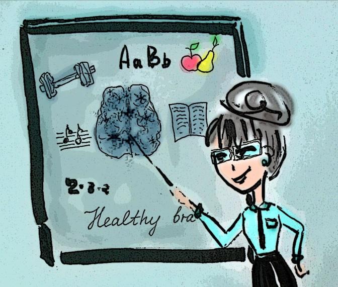 10 Ways to Keep Your Brain Healthy. 10 Способів Підтримувати Ваш Мозок Здоровим.