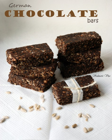 German ChocolateProtein Bars