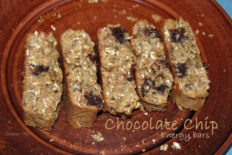 Chocolate Chip Energy bars 3CHCHEBSV