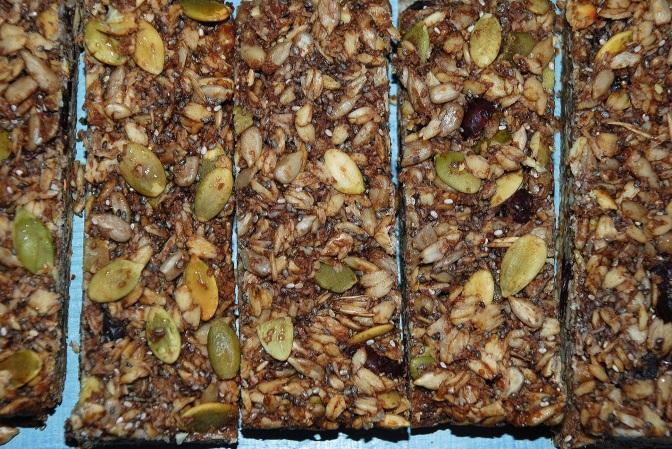 Chocolate Muesli Bars. Шоколадні Батончики-Мюслі.
