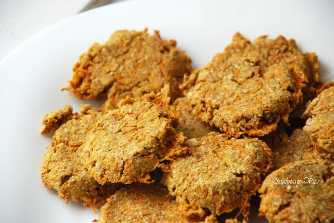 Coconut Carrot Buckwheat Cookies. Кокосово-Морквяні Гречані Печення.