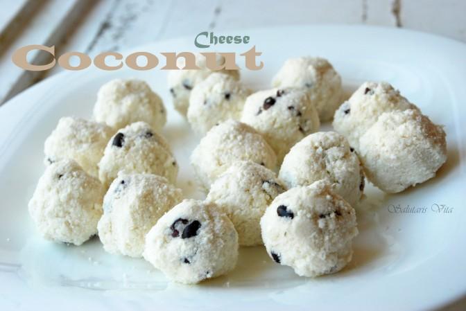 Sugar Free: Coconut Cheese Balls. Без Цукру: Кокосово-Сирні Кульки.