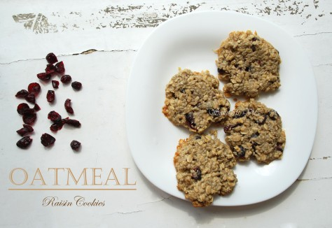 Chewy Oatmeal Raisin Cookies 3ORCSV