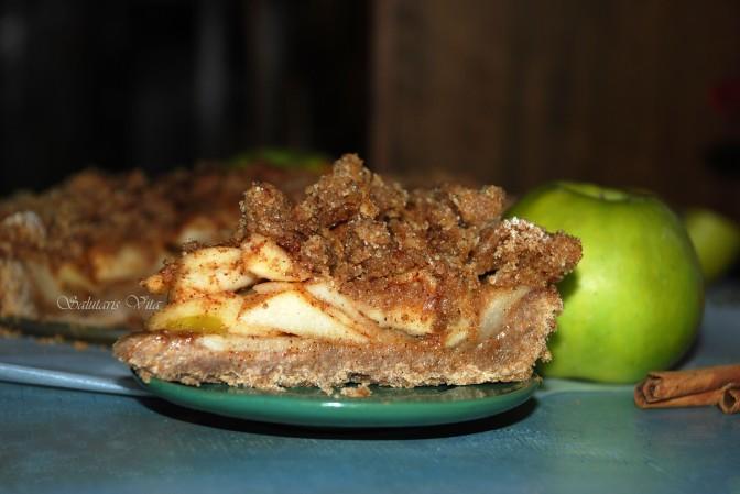 Crumble Apple Pie. Крихкий Яблучний Пиріг.