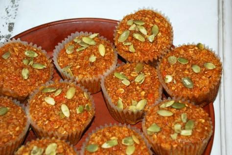 Healthy Pumpkin Muffins 3SV