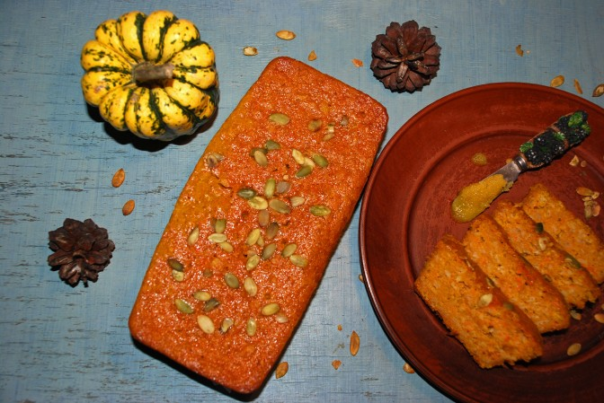 Pumpkin Bread. Гарбузовий Хлібчик.