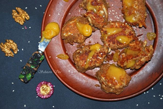 Buckwheat and Apple Clumsy Pancakes. Кострубаті Яблучні Гречаники.